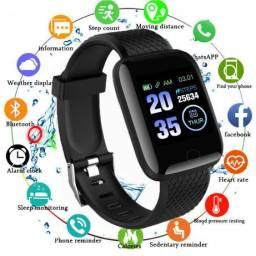 Relógio Smartwatch Inteligente Pedometro - Entrega grátis para São Luís 116 plus
