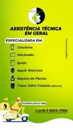 Assistência técnica especializada. Conserto de celulares