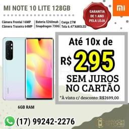 Mi Note 10 Lite [ Linha Premium ] 128gb ROM - pronta entrega