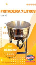 Fritadeira á gás 7 litros - Entrega grátis *
