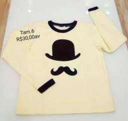 Camisas Novas 30,00