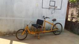 Aluguel de Bike Charrete personalizada adulto + criança em Chapada dos Guimaraes