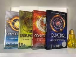Divergente - Veronica Roth - box completo + livro Quatro