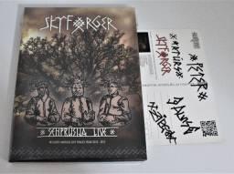 DVD Skyforger Senprusija Live novo lacrado importado