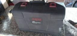 Lixadeira de cinta skill pouco usada 900w