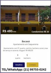 Apartamento em Bacaxá aluguel