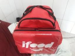 Mochila vermelha bag