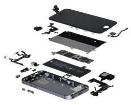 Peça de reposição para iPhone, vários modelos