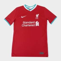 Camisa Liverpool 20/21 - Torcedor Nike Masculino - PRONTA ENTREGA