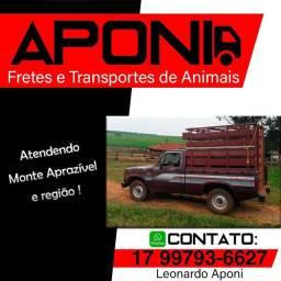 Transportes e fretes animais