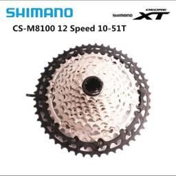 Cassete shimano SLX M8100