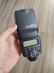 Flash Canon 430EXII - IMPECÁVEL
