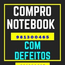 Compra-mos Notebook Com Defeitos