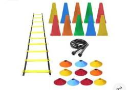 Escada de treinamento, 10 cones
