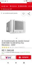 Ar condicionado Consul com nota está novinho