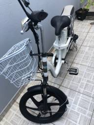 Bicicleta elétrica zerada