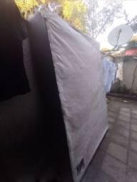 Cama de casal box + colchão