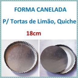40 Formas* Canelada¨¨ De Quiche/torta De Limão 18cm Trailers.( Padarias)