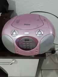 Rádio com cd e pen drive