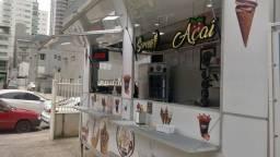 Food Trailer, Sorvete Expresso e Açaí, 2019 em ACM e revestido com isopor térmico
