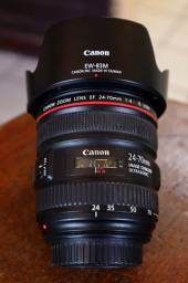 Lentes Canon 24-70mm e 85mm