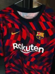 Camisa Barcelona Pré-Jogo