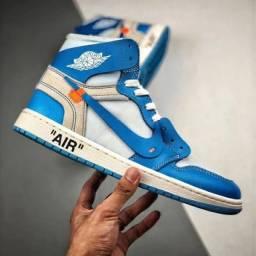 Nike air jordan retro high off-white unc