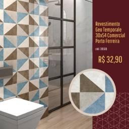 Título do anúncio: Revestimento Geo Temporale 30X54 Comercial Porto Ferreira