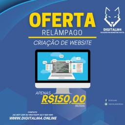 Criação de website por R$150 entremos em 7 dias úteis