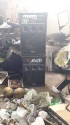 2 caixas som HS Sound 150w