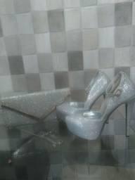 Sapato e bolsa