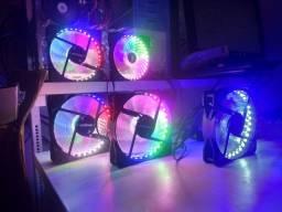 Cooler RGB 120mm (12cm) com parafusos