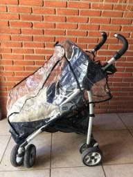 Carrinho de bebê Chico c/ capa de chuva