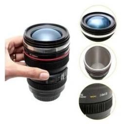 Copo Térmico Lente Câmera Ef 24-105mm Caniam Caneca Macro x 12x R$ 6,21
