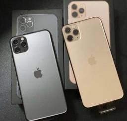Iphone pro max 256 gb novo lacrado 1 ano de garantia