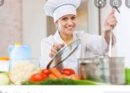 Contrata-se Cozinheiro e auxiliar de cozinha