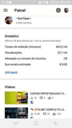 CANAL YOUTUBE 3K