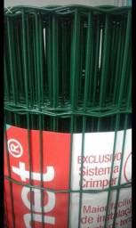 Telacor revestida em pvc verde 2.50mm