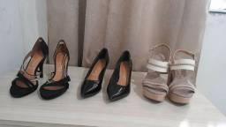 Sapato, sandálias pouco uso
