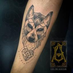 Tatuagem por notebook ou tablet