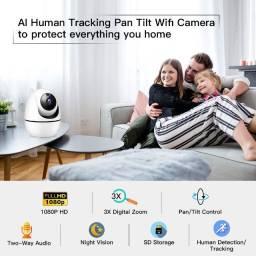 Câmera IP Segurança Shiningpo IT01 Completíssima Fácil Instalação