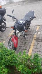 Vendo fan 125 doc ok motor ok. Moto sem os fala / ano /2014/2015