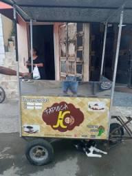 Carrinho de lanches pra vender tapiocas