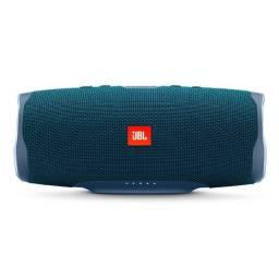 Caixa de Som JBL Charge 4 Bluetooth 30W Azul
