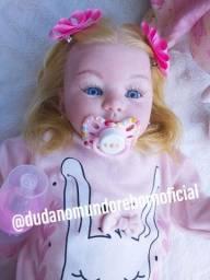 Boneca reborn luxo perfeita