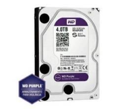 HD 4tb wd purple R$490,00