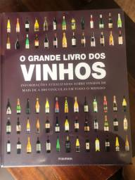 Livro : o grande livro dos vinhos - LACRADO