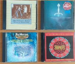 CDs Rick Wakeman - 4 álbuns sensacionais usados - sem defeito