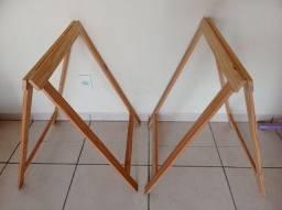 2 Cavaletes de Pinus