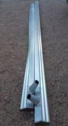 Calha de alumínio para telhado